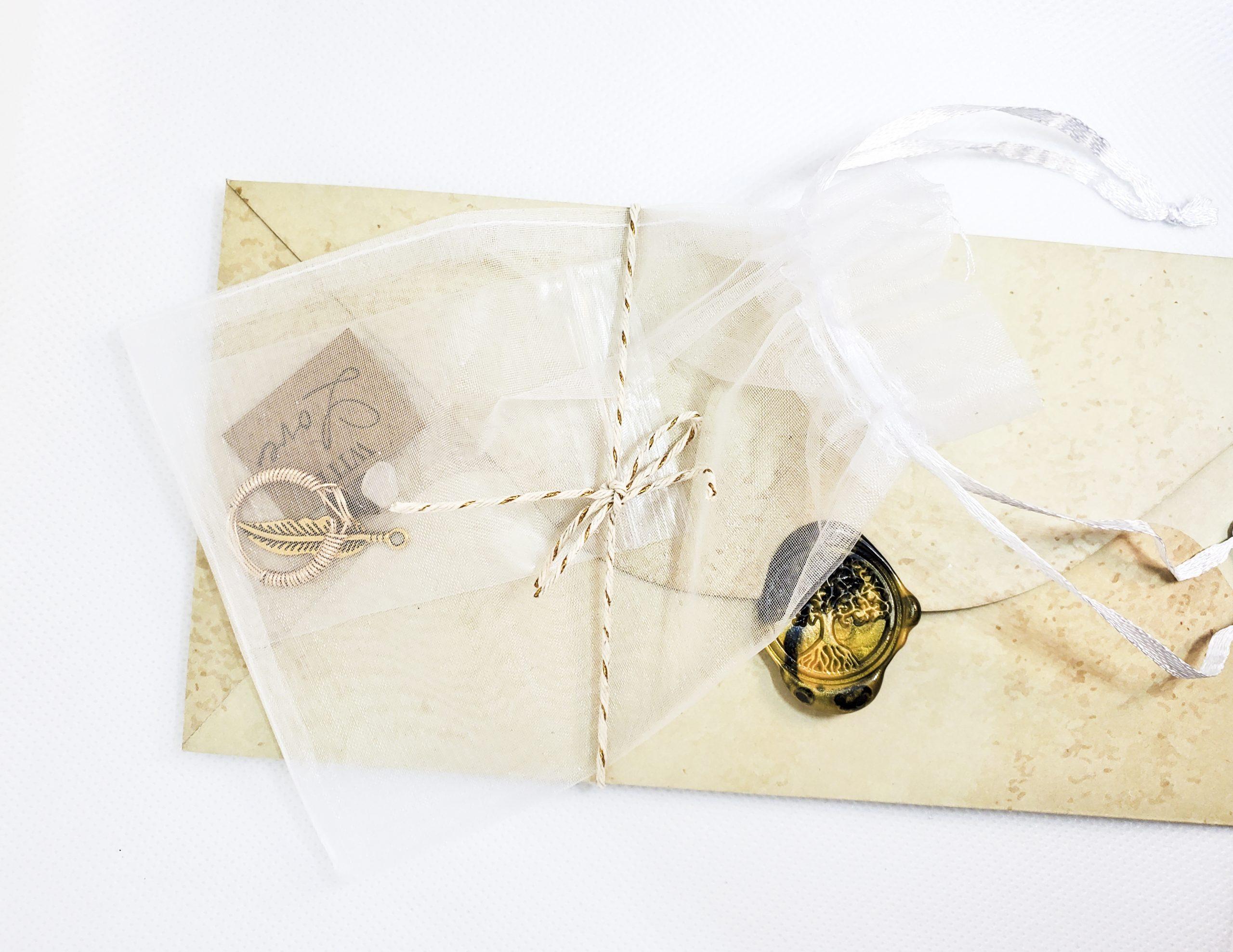 Character Inspired Ring & Letter
